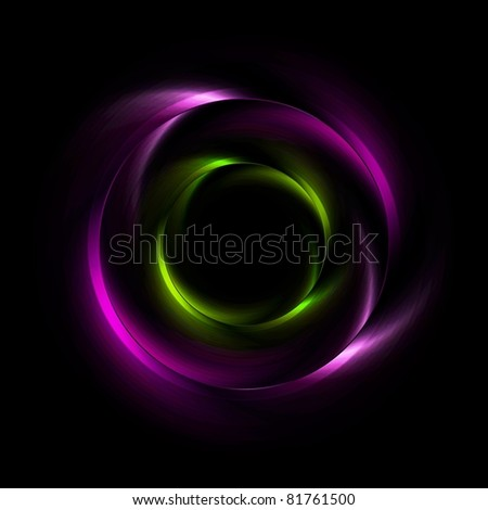 Abstract iridescent vector background. Eps 10 - stock vector