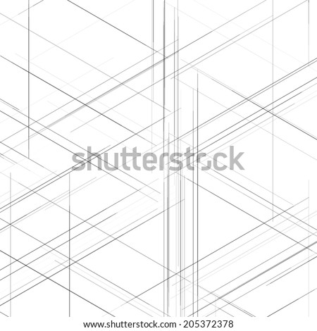 Abstract isometric computer generated 3d blueprint vectores en stock abstract isometric computer generated 3d blueprint visualization lines background vector illustration for break through in malvernweather Choice Image