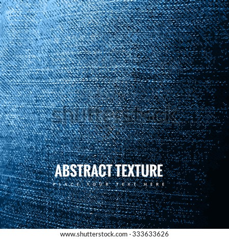 Abstract jeans texture background vector - stock vector