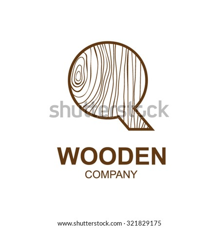 abstract letter q logo design template stock vector 321829175