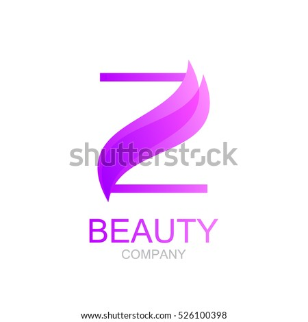 Abstract Letter Z Logo Design Template Stock Vector (Royalty Free ...