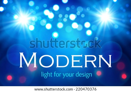 Abstract light background. Merry Christmas. Vector illustration - stock vector