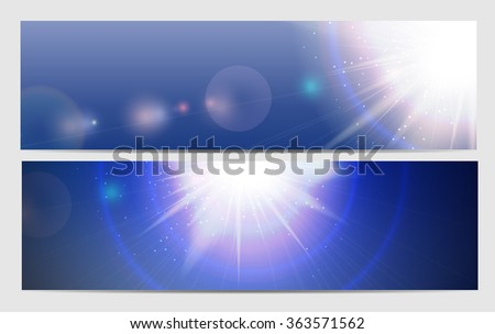 Abstract Light Background Vector Illustration EPS10 - stock vector