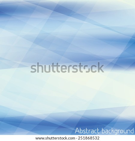 Abstract light blue pattern textured by strips. CMYK color mode. Vector background - stock vector