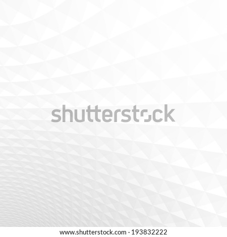 Abstract light perspective background, white and gray texture. - stock vector