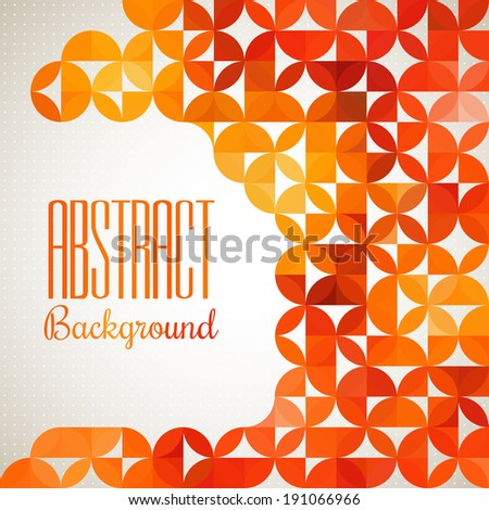 Abstract light vector background. Modern geometrical abstract background. - stock vector