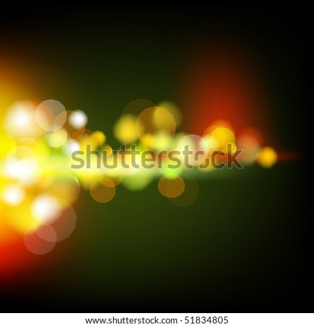Abstract lights - stock vector