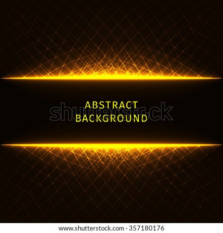 Abstract lights gold strips on dark background. Electrical Strip Background. Electrical Strip Background. Electrical Strip Background. Electrical Strip Background. Electrical Strip Background. - stock vector