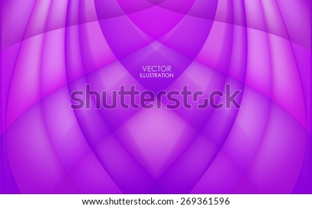 Abstract lilac background. Vector Illustration. Clip-art - stock vector