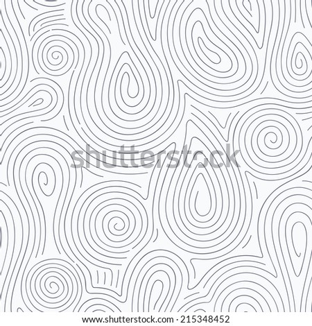 Abstract line seamless pattern. Vector illustration - stock vector