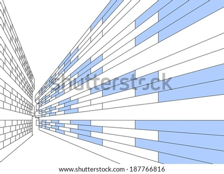 abstract linear architecture design background