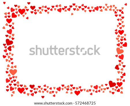 Abstract Love Your Valentines Day Greeting Stock Vector (2018 ...