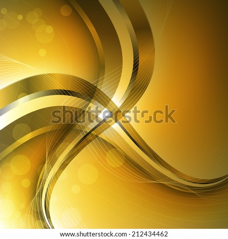 Abstract luxury background with wave. Clip-art