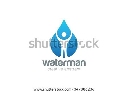 Water Drop Logo Design Vector Template Stock Vector 551634223 ...
