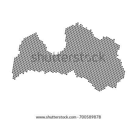 Abstract map latvia dots planet lines stock vector 700589878 abstract map of latvia dots planet lines global world map halftone concept vector gumiabroncs Images