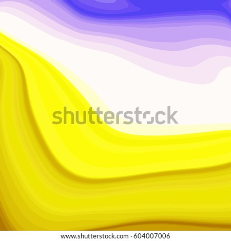 Abstract Marbling background. Template of vectorized texture, mixture of paints.
