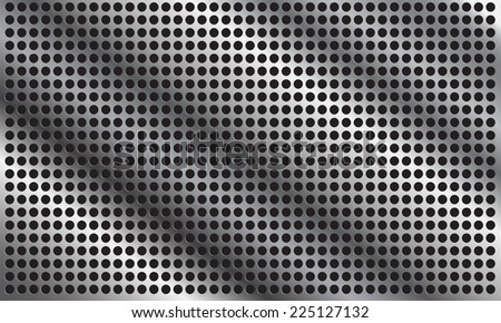 abstract metal background - vector EPS10 - stock vector