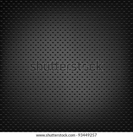 Abstract metal background. Vector illustration - stock vector