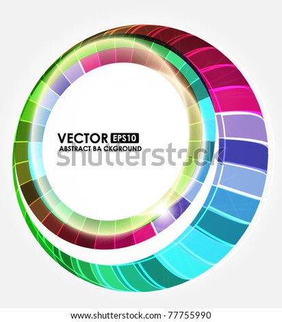 Abstract modern background - stock vector