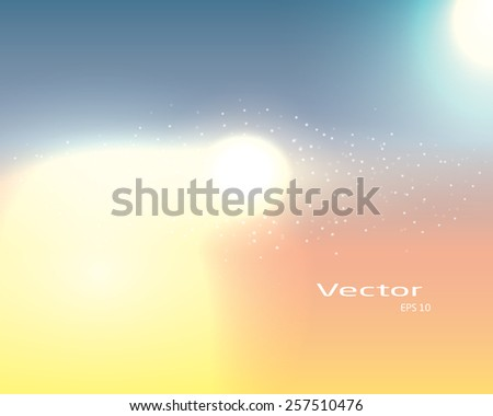 abstract modern colorful design. vector background - stock vector