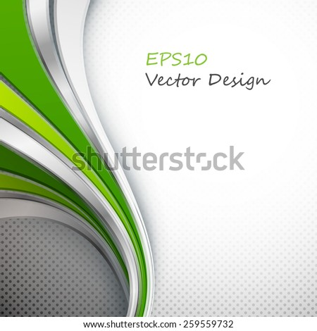 abstract modern colorful vector template with copy space. Eps10 - stock vector