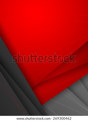 abstract modern corporate vector background with copy space. Eps10 - stock vector