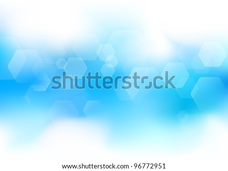 Abstract modern layout. Vector illustration - stock vector