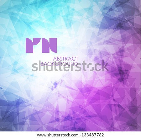 abstract modern pixel background. Design modern template can be used for brochure, banners or website layout vector. - stock vector