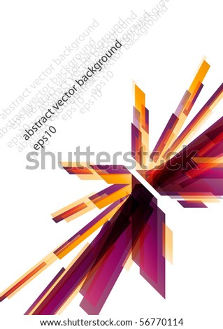 Abstract modern purple layout background design (eps10) - stock vector