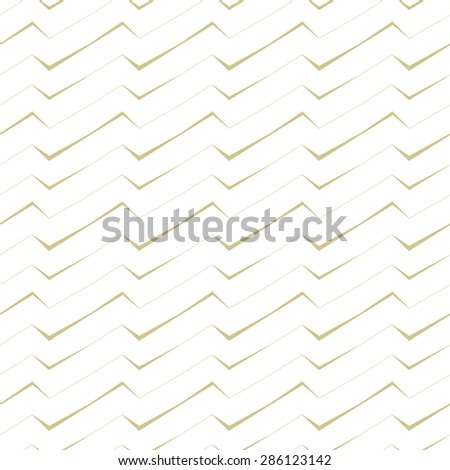abstract monochrome vector seamless wallpaper with stripes - stock vector