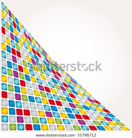 abstract mosaic vector composition for more background of this type please visit my gallery