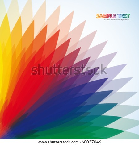 Abstract multi-colored background - stock vector