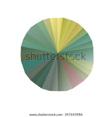 Abstract multicolor background. Vector illustration in polygonal style - stock vector