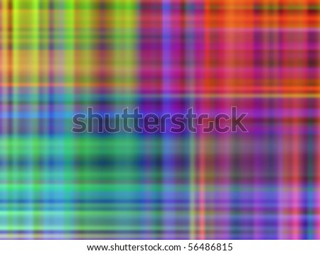 Abstract Multicolor Pattern Background (Vector) - stock vector