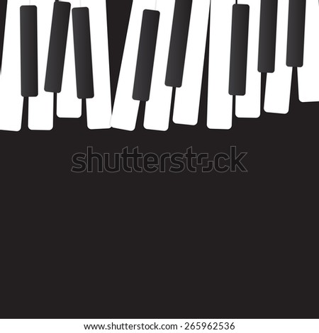Abstract music background vector illustration for your design - stock vector