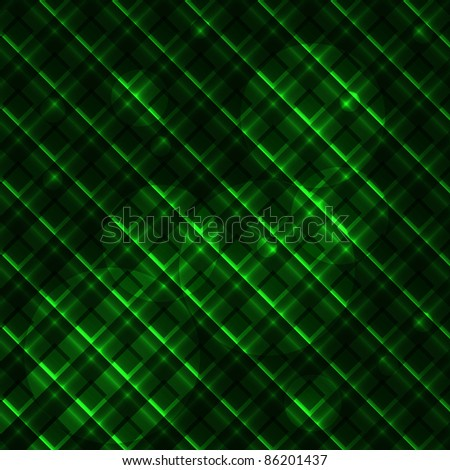 Abstract neon green background. Vector illustration. eps10 - stock vector