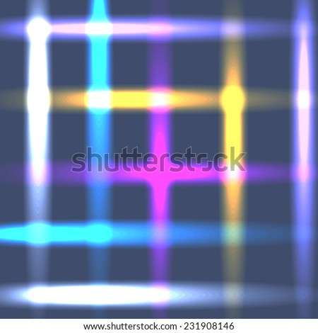 Abstract neon vector background concept