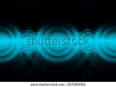 Abstract of sound wave background,vector illustration