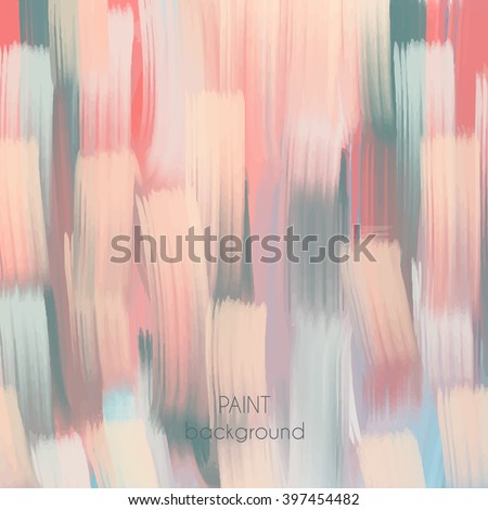 Abstract Oil Painting Texture Hand Drawn Stock Vector ...