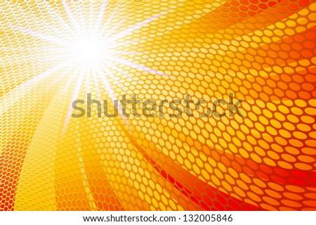 Abstract Orange - stock vector