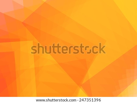 Abstract Orange background. vector illustration - stock vector