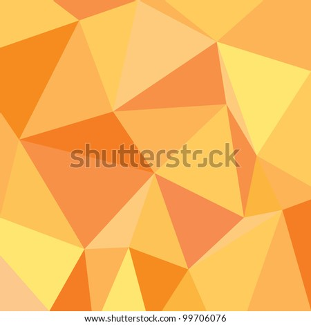 Abstract orange background vector illustration - stock vector