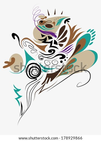 Abstract ornament in vector