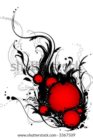 Abstract ornamental clip-art - stock vector