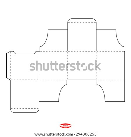 Abstract packaging square box lid template stock vector 294308255 abstract packaging square box with lid template isolated on background vector illustration pronofoot35fo Gallery