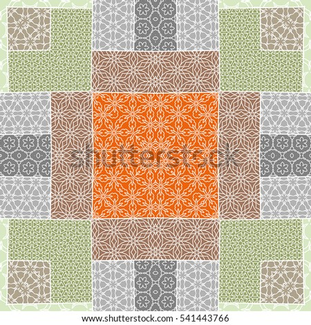 Quilt Pattern Stock Images, Royalty-Free Images & Vectors ... : ethnic quilt - Adamdwight.com