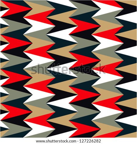 Abstract pattern colored - stock vector