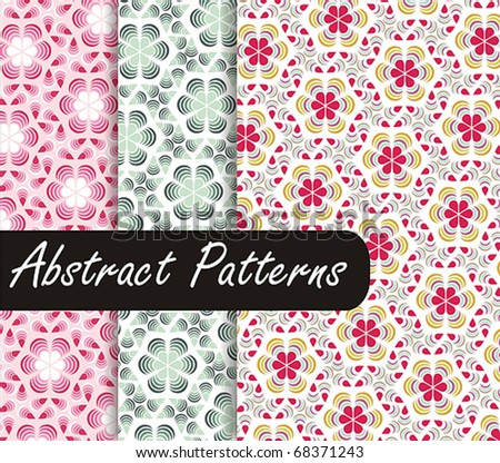 Abstract Patterns - stock vector