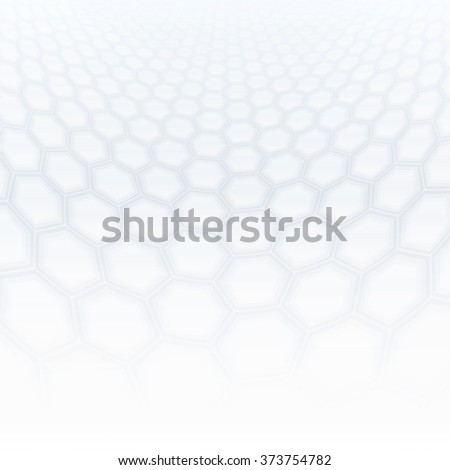 Abstract perspective background with soft gray tone. - stock vector