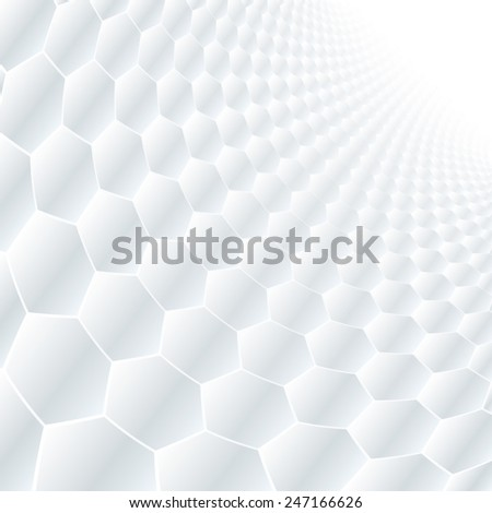 Abstract perspective background with soft grey tone. - stock vector